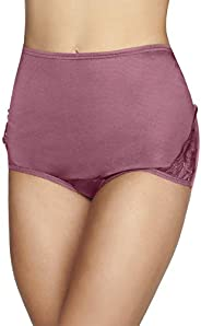 Vanity Fair Womens Underwear Perfectly Yours Traditional Nylon Brief Panties Briefs