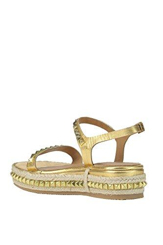 Les Femmes Fiorina Mcglcab03079e Sandales En Cuir Dor