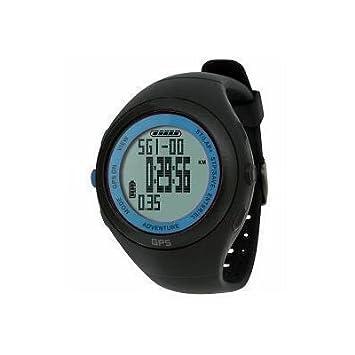 Calidad impermeable de navegación GPS reloj de pulsera deportivo Con Cronógrafo Cronómetro - Medidas calorías quemadas