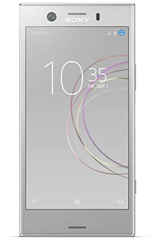 Sony Xperia XZ1 Compact G8441 32GB White Silver, 4.6-inches, 4GB RAM, GSM Unlocked International Model, No Warranty