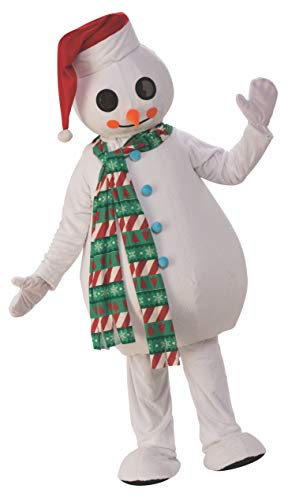 Rubie's Costume 700103 Co Unisex-Adults Oversized Snowman Mascot Costume, Standard (Unisex Snowman)