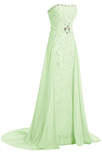amp;Chiffon Ivydressing Spitze Taegerlos Festkelid Partykleid Abendkleid A Jaegergruen Damen Linie qAq5Evx