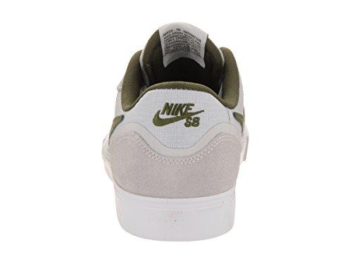 Zapatillas Nike Paul Rodriguez 9 Vr Skate Pure Platinum / Legion Green