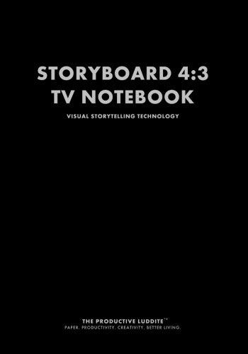 Storyboard 4:3 TV Notebook: Visual Storytelling Technology pdf