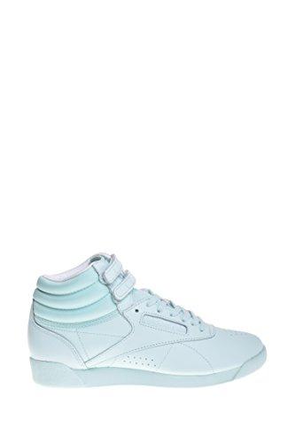 Reebok Womens Freestyle Hi Cb Mist / Sneakers Bianche Moda