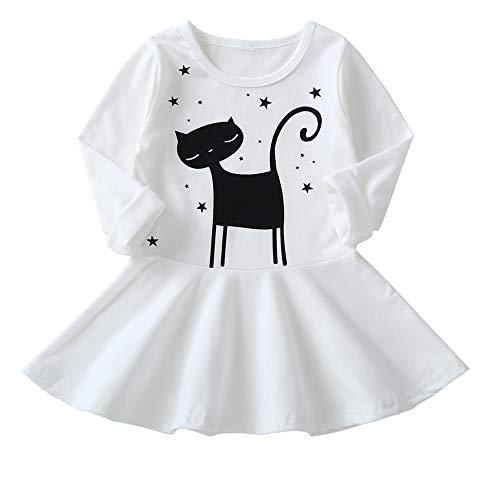 Cute Kid Toddler Baby Girl Dress Long Sleeve
