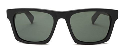 OTIS Eyewear Dive Bar : Matte Black/Grey Polarized Mens - Sunglasses Otis