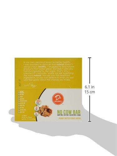 D's Naturals No Cow Bar Peanut Butter Chocolate Chip, 12 Bars, Net Wt. 25.44 Oz.
