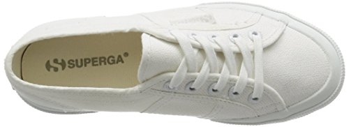 Superga 2750 Cotu Skor Uk 9 Totalt Antal Vita
