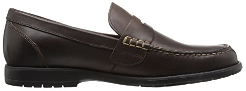 Nunn Bush Mens Appelton Öre Loafer Brun Crazy Horse