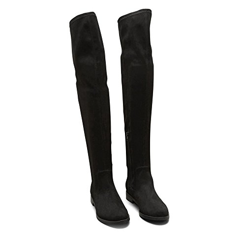 Reaction Kenneth Cole Wind Free Over The Knee Boot - Womens Black IUevby
