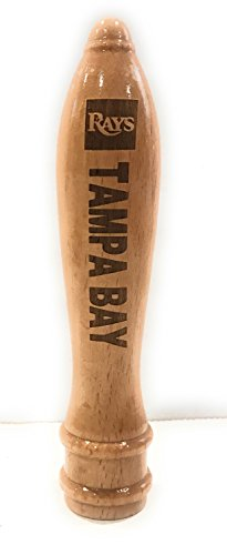 (Tampa Bay Rays Engraved Pub Style Beer Tap Handle Natural)