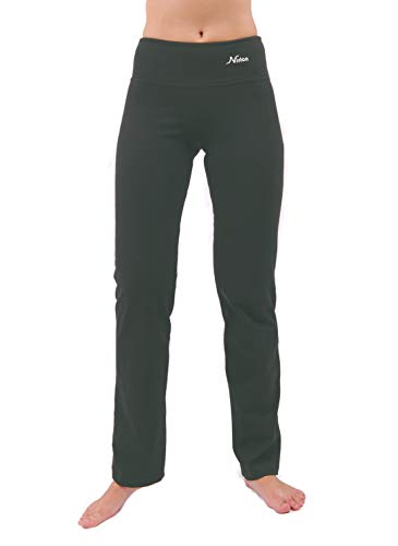 - Yoga Pants Women Best Black Leggings Straight Leg 28