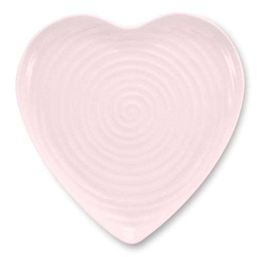 Portmeirion Sophie Conran Pink Large Heart Plate by Portmeirion