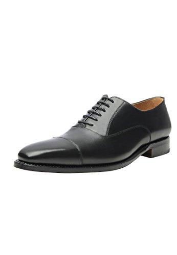SHOEPASSION No. 548 Exklusiver Business, Freizeit- oder Auch Hochzeitsschuh für Herren. Rahmengenäht und Handgefertigt Aus Feinstem Leder. Schwarz