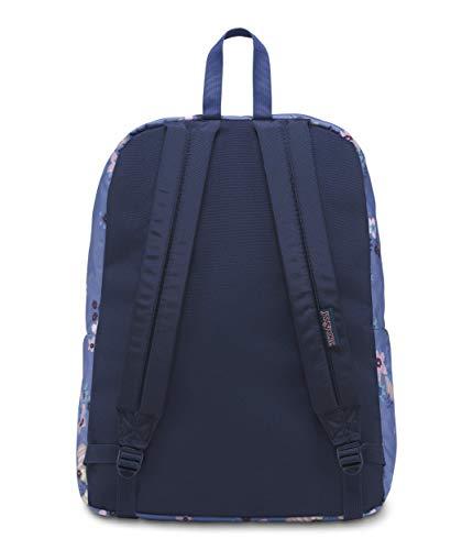 Jansport Black Backpack Artist Unisex Floral Label Adult Superbreak Jansport Unisex Adult ww8qXr