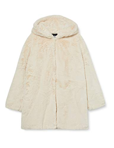 Urban Classics dames mantel Ladies Hooded Teddy Coat