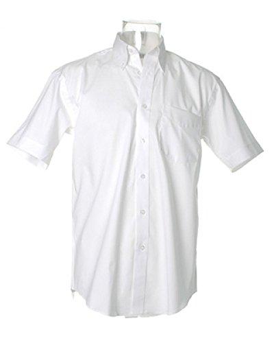 Kustom Kit Corporate Oxford shirt short sleeved White* (Kustom Kit)