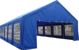 20 X 40 Ft Outdoor Wedding Party Tent Gazebo Carport Shelter Garage Rental Blue