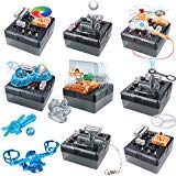 Discovery MINDBLOWN Electronic Circuitry Experiment Building Set with 125 You-Build-It Experiments (Cool Electronic Things)