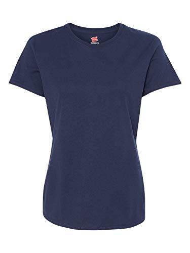 Hanes Women's Nano T-Shirt, Small, Navy ()