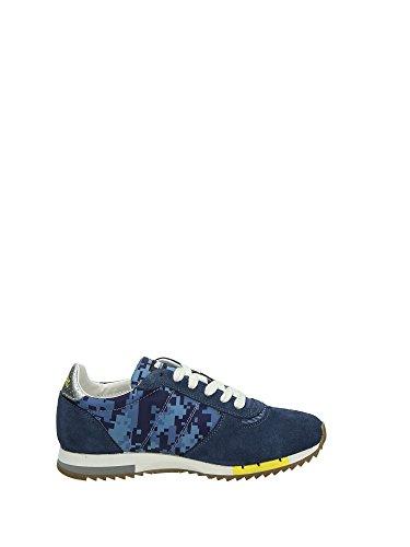 Blauer USA Runlow, Men's Low-Top Sneakers Navy