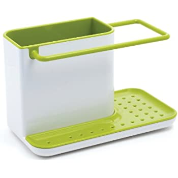 joseph joseph 85021 sink caddy kitchen sink organizer sponge holder dishwasher safe regular