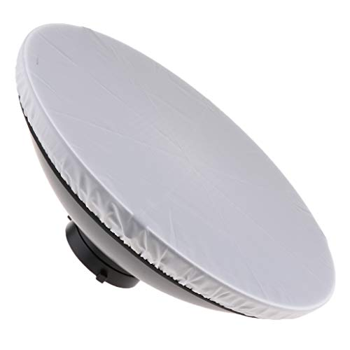 SM SunniMix 41cm/16in White Beauty Dish Softbox Flash Reflector Diffuser for Bowens Mount Speedlite Photography Strobe Light