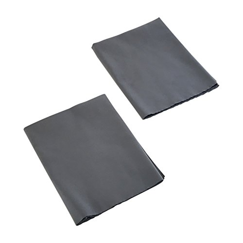 GlassKleen Microfiber Towels - Sonic Cut Edges - Streak Free Cleaning - Wine Glasses - Glass - Fine Furniture - Leather - Suede Feel - Microfiber Cleaning Towel - 20