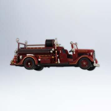 Fire Engine Ornament (Hallmark 2012