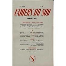 Cahiers du sud, marseille, dir. j. ballard, in-8, 1913...