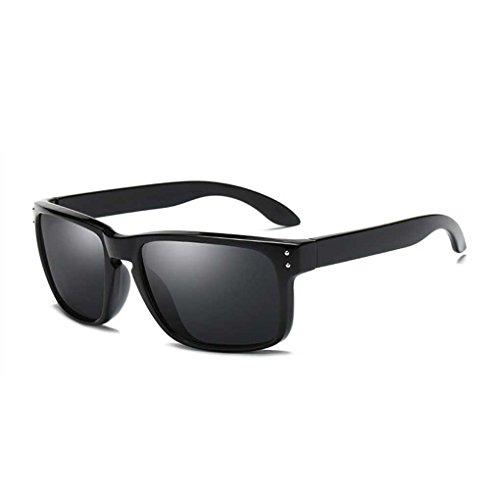Coolsir Clásica Conducir Marco Vintage PC Gafas de Sol polarizados Fresca de de 1 Sol Vidrios Gentleman Gafas fish Gafas la 16StAA