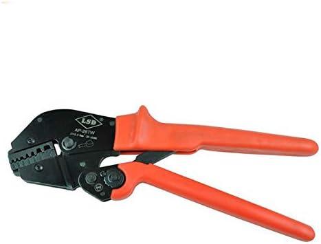 ケーブルカッター 圧着ペンチ ケーブルフェルール用 端子圧着プライヤー コードエンド 圧着工具 25-50mm² 炭素鋼プライヤー 手動ケーブルカッター