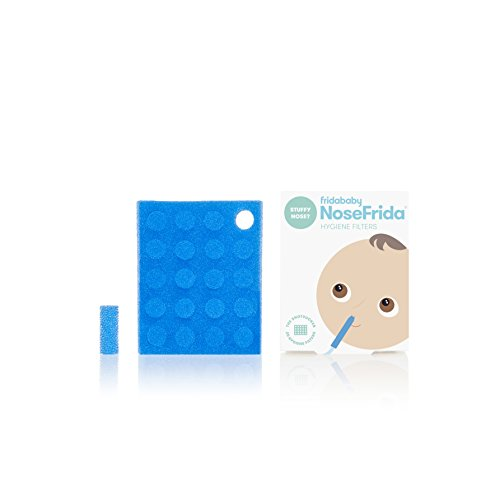 Baby Nasal Aspirator Hygiene Filters for NoseFrida the Snotsucker by Fridababy (20 Pack)