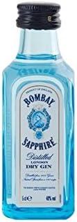 BOTELLITA GIN BOMBAY SAPPHIRE 5cl 47% VOL.: Amazon.es ...