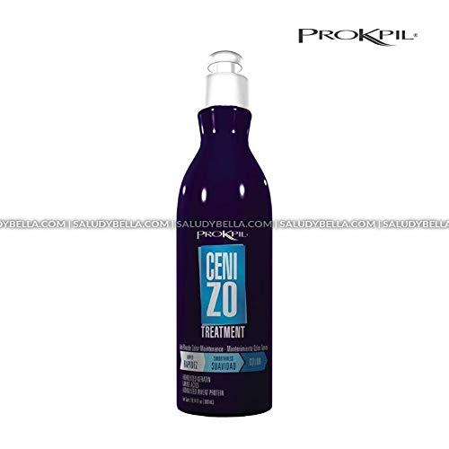 (Prokpil   Treatment Ashen Maintenance Nuance Purple Mask for Blonde Hair   Matizante Cenizo Tratamiento y Mantenimiento Natural Matizador Con Brisos Azul plata 10.1OZ(300ml))