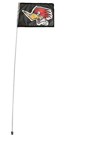 Parts Atv Banshee (JLP Yamaha Raptor Warrior Banshee YFZ450 Blaster 6' ATV Whip Flag Glamis Flag)