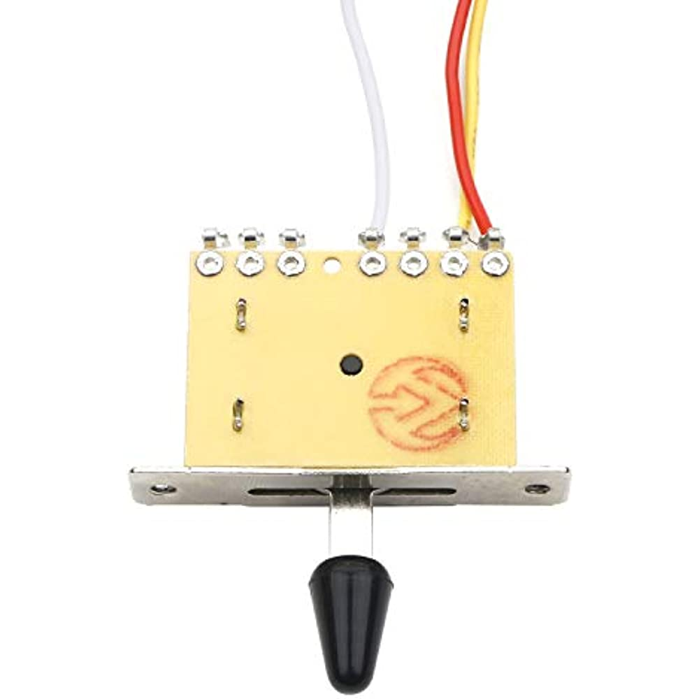 Strat Guitar Wiring Harness Prewired 3x 500k Pots 1 Volume