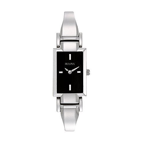 Bulova Women's 96L138 Stainless Steel Bangle Watch -