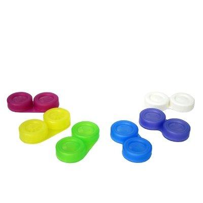 Boilable vis-Top Contact Lens Case - Couleur: Bleu