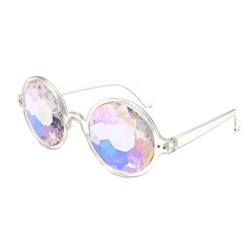 OUBAO Sunglasses Rainbow Lenses Props Party Eyewear Glasses -