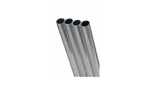 K /& S PRECISION METALS 8135 3//8 x 12 Round Brass Tube