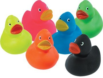 Rubber Duck - Choose color (only one duck included) by Schylling