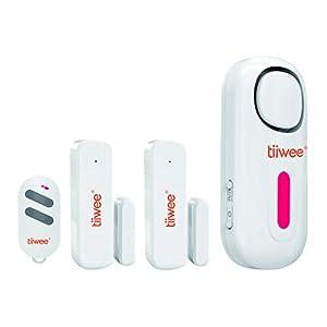Tiiwee Allarme Casa - Sistema di Allarme Wireless Anti-Effrazione - Allarme Casa Senza Fili con 120 dB Sirena - 2… 15 spesavip