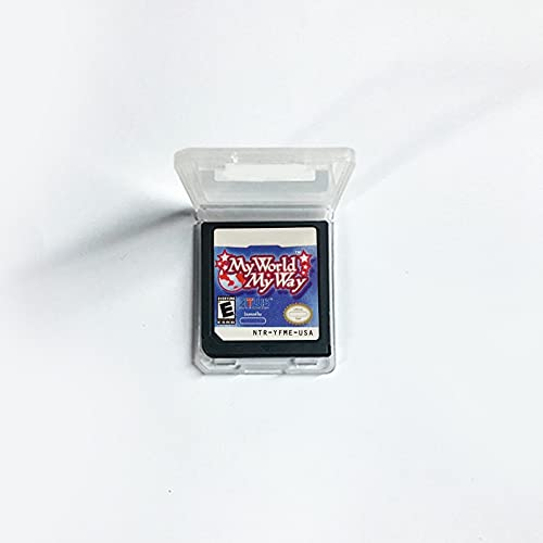 Aditi My World My Way Cartridge For DS 2DS 3DS Video Game Console US Version