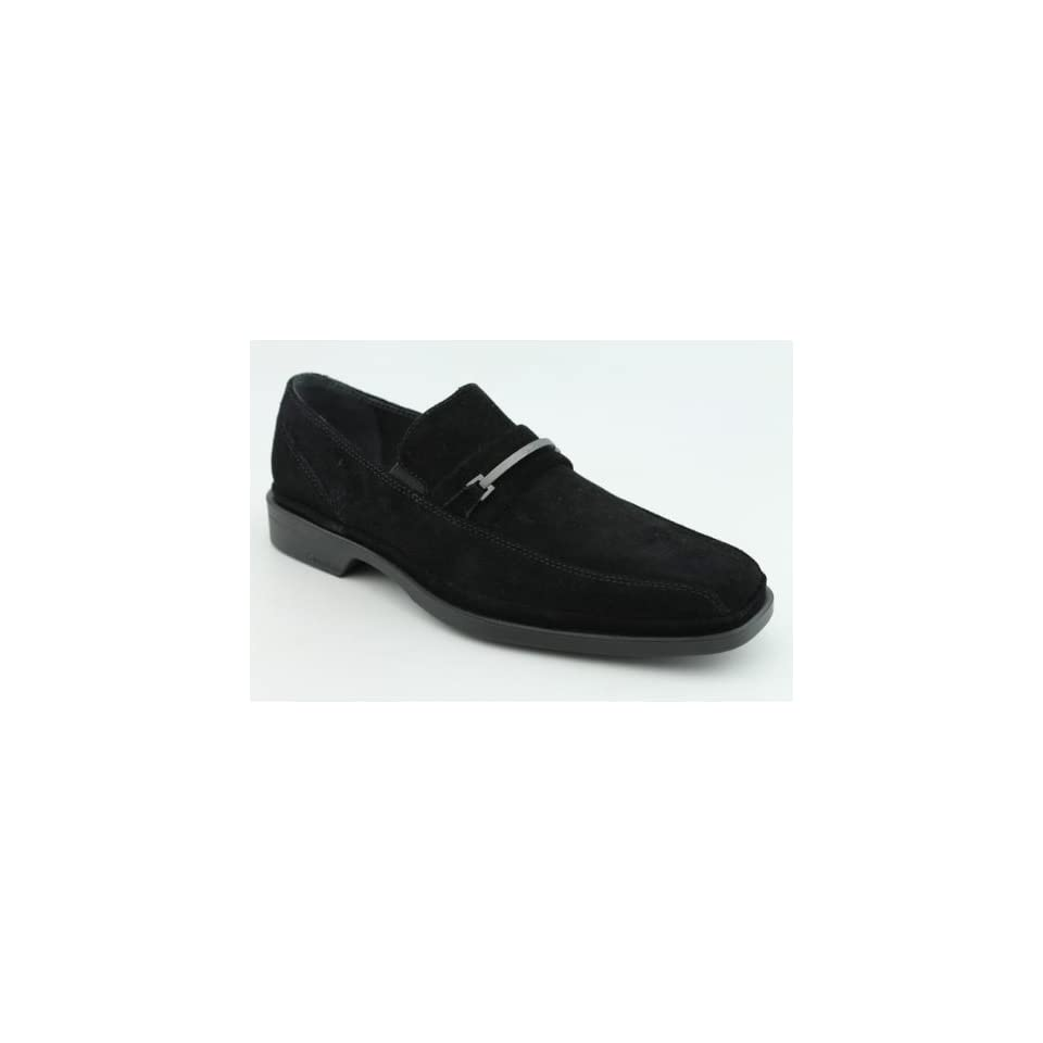 Calvin Klein Benny Mens SZ 9.5 Black Shoes
