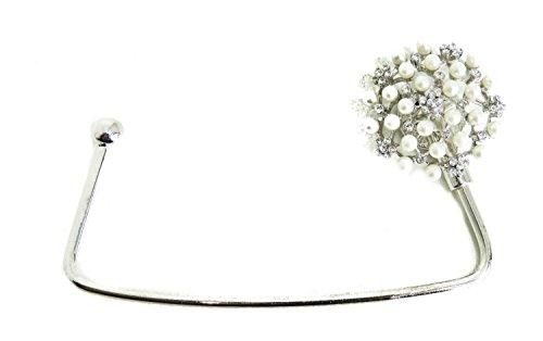 Glamour Girlz, Borsa a spalla donna Argento argento Taglia unica