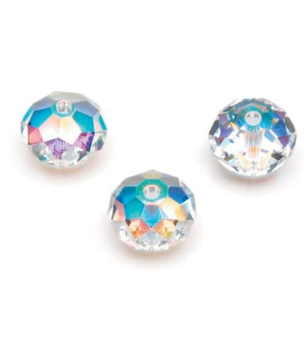 SWAROVSKI 5040-8 8Mm Spacer Bead Crystal Ab