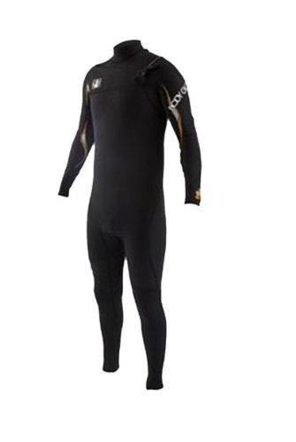 Body Glove Men's 3/2mm Vapor Slant Zip Fullsuit Wetsuit, Medium