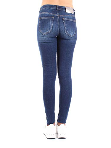 Jeans Silvian Donna Cotone Heach Blu PGA18866JEDENIM 6P7Pg4wqx